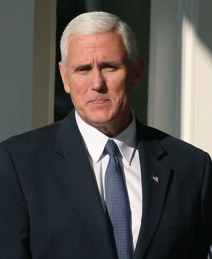 Mike Pence in Joe Biden Hosts Vice President-Elect Pence for Lunch at ...