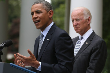 Joe Biden Barack Obama Delivers Statement on Immigration Reform