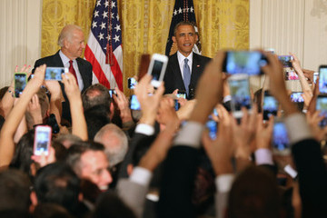 Joe Biden President Obama Hosts a Reception at the White House in Honor of LGBT Pride Month