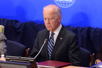 Joe Biden U.S. President Barack Obama Attends Meeting on Countering ISIL and Violent Extremism