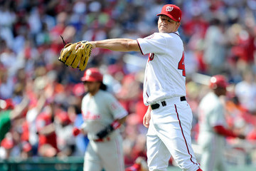 Joe Blanton Philadelphia Phillies v Washington Nationals