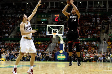 Joe Harris Miami Heat v Cleveland Cavaliers