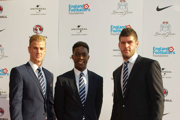 Joe Hart Danny Welbeck Lions and Roses Charity Event