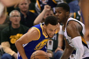 Joe Johnson Golden State Warriors v Utah Jazz - Game Three