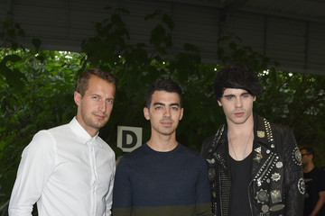 Joe Jonas Brendan Fallis Front Row at Diesel Black Gold