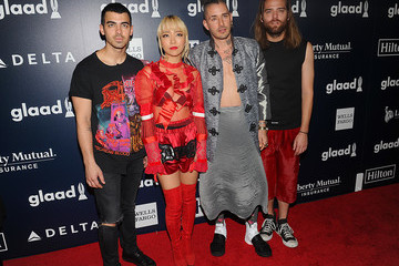 Joe Jonas Jack Lawless Ketel One Vodka Sponsors the 28th Annual GLAAD Media Awards in New York