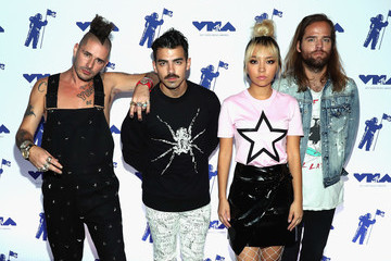 Joe Jonas Jack Lawless MTV & Taco Bell Present Best New Artist Night for VMA Weekend