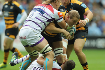 Joe Launchbury Wasps vs. Leicester Tigers - Gallagher Premiership Rugby