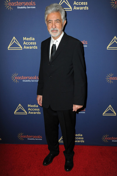 40th Annual Media Access Awards In Partnership With Easterseals [suit,formal wear,carpet,tuxedo,premiere,event,red carpet,white-collar worker,official,tie,media access awards in partnership with easterseals,annual media access awards in partnership with easterseals,beverly hills,california,the beverly hilton hotel,joe mantegna]