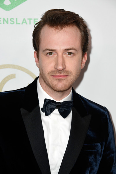 30th Annual Producers Guild Awards  - Arrivals [hair,suit,formal wear,tuxedo,eyebrow,forehead,chin,hairstyle,facial hair,white-collar worker,arrivals,joe mazzello,the beverly hilton hotel,beverly hills,california,annual producers guild awards]