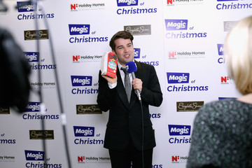 Joe McElderry Magic Of Christmas - Backstage