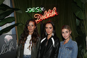 "(L - R) Sophie Bickley, Olivia Perez, and Charlotte Bickley attend  Joe's ""From Dusk Til Dawn"" event on September 13, 2018 in New York City."