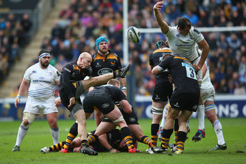 Joe Simpson Wasps v Leinster Rugby - European Rugby Champions Cup