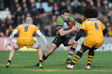Joe Simpson Harlequins v London Wasps - Aviva Premiership