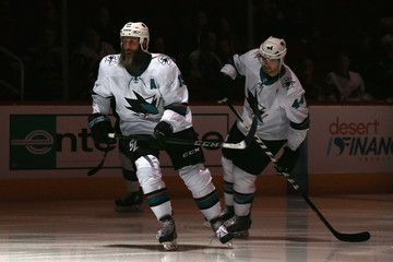 Joe Thornton San Jose Sharks v Arizona Coyotes