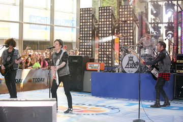 Joe Trohman Andy Hurley Fall Out Boy Performs on 'Today'