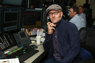Joel Edgerton Annual Charity Day Hosted by Cantor Fitzgerald and BGC - Cantor Fitzgerald Office - Inside