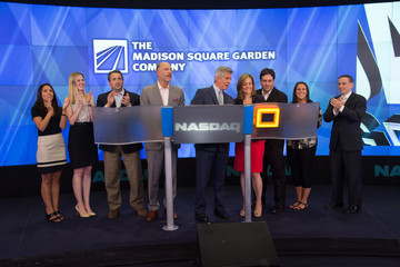 Joel Fisher The Madison Square Garden Company Ring the Closing Bell