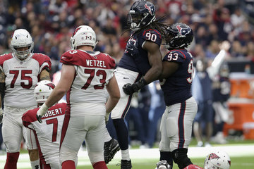 Joel Heath Arizona Cardinals v Houston Texans