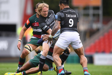 Joel Hodgson Leicester Tigers vs. Newcastle Falcons - Gallagher Premiership Rugby