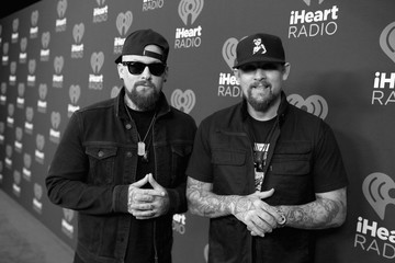 Joel Madden 2016 iHeartRadio Music Festival - Night 2 - Backstage
