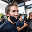 Joel Osteen George Floyd's Family Joins March To Honor Him In Houston