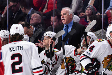Joel Quenneville Chicago Blackhawks v Montreal Canadiens