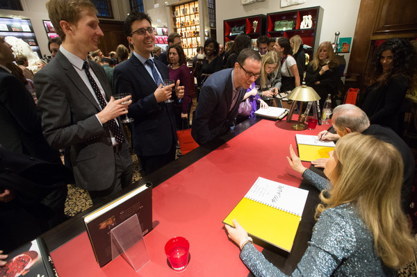 Food & Life Book Signing With Chef Joel Robuchon And Dr Nadia Volf At Maison Assouline In London