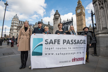 Joely Richardson Celebrities And Faith Leaders Appeal To Government To Re-think Dubs Scheme Closure