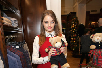 Joey King Brooks Brothers Celebrates the Holidays With St. Jude Children's Research Hospital