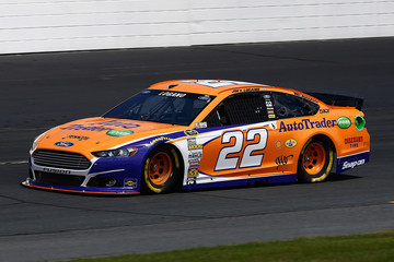Joey Logano New Hampshire Motor Speedway: Day 2