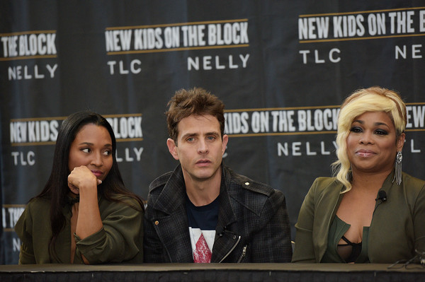 New Kids on the Block Press Conference [new kids on the block press conference,event,news conference,games,fiction,joey mcintyre,t-boz,chilli,madison square garden,new york city,tlc]