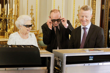 John Bennett Queen Elizabeth II's 2012 Christmas Broadcast In 3D At Buckingham Palace