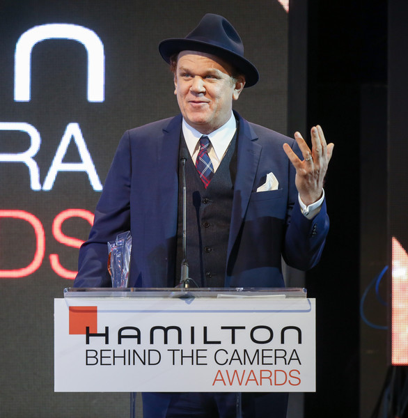 Hamilton Behind The Camera Awards - Inside [speech,public speaking,spokesperson,orator,event,white-collar worker,suit,world,job,gesture,john c. reilly,hamilton behind the camera awards,hamilton behind the camera awards,los angeles,california,los angeles confidential magazine]