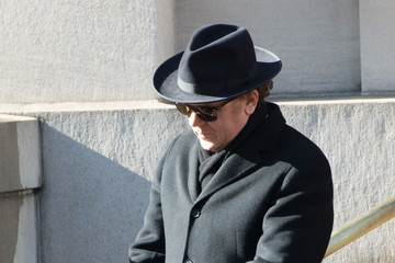 John C. Reilly Funeral Held for Philip Seymour Hoffman