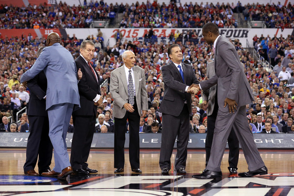 Naismith Memorial Basketball Hall Of Fame 2015 Class On Court Announcement