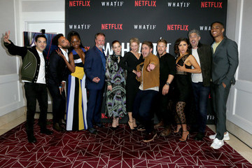 John Clarence Stewart Premiere Of Netflix's 'What/If'