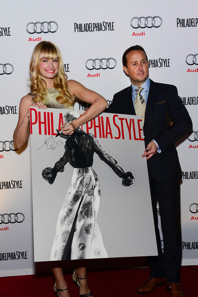 Philadelphia Style Magazine Holiday 2013 Cover Event With Beth Behrs From Two Broke Girls