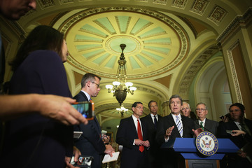 John Cornyn Senate Republicans Address the Media