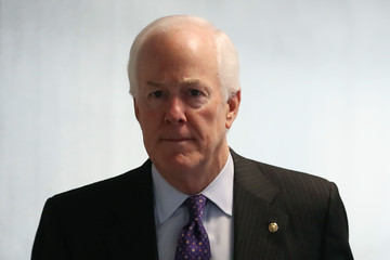 John Cornyn Senate Intelligence Committee Meets for Closed Briefing on Russia Investigation