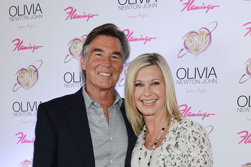 "John Easterling Olivia Newton-John Celebrates Grand Opening Of New Show ""Summer Nights"" At Flamingo Las Vegas"