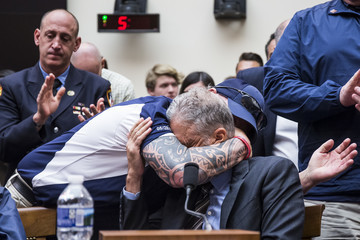 John Feal Former 'Daily Show' Host Jon Stewart Testifies On Need To Reauthorize The September 11th Victim Compensation Fund