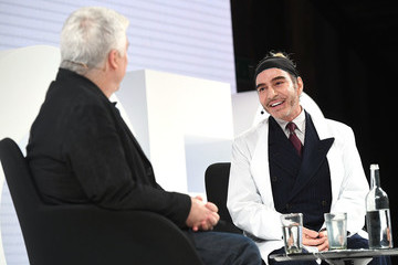 John Galliano The Business of Fashion Presents An Exclusive Conversation With John Galliano And Tim Blanks