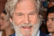 Actor Jeff Bridges attends a ceremony honoring John Goodman with the 2,604th Star on The Hollywood Walk of Fame on March 10, 2017 in Hollywood, California.