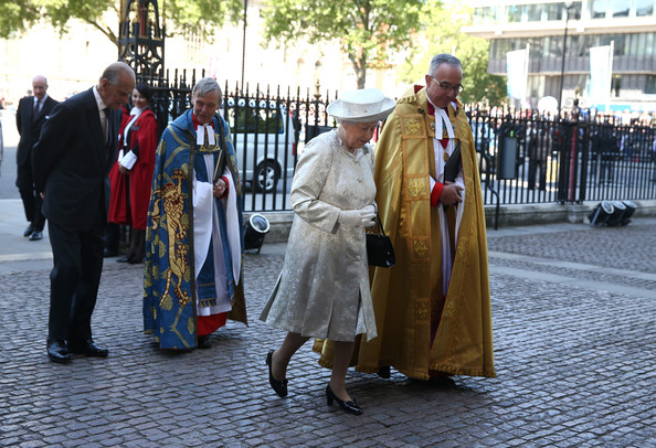 Arrivals at the 60th Anniversary Coronation Service — Part 9