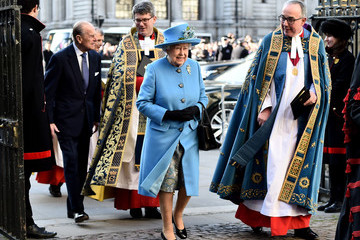John Hall Prince Philip The Royal Family Attends The Commonwealth Observance Day Service