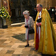 John Hall The Queen And The Duchess Of Cornwall Attend A Service Marking  The 750th Anniversary Of Westminster Abbey