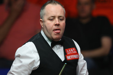 John Higgins World Snooker Championship - Day Sixteen