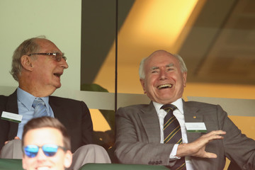John Howard Australia v Pakistan - 3rd Test: Day 2