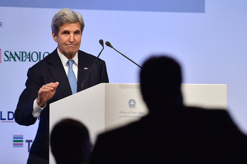 John Kerry US and Russia Foreign Ministers Attend the Mediterranean Dialogues (MED) Summit